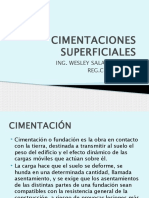 4. CIMENTACIONES SUPERFICIALES