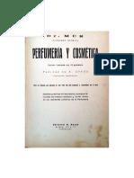 Perfumería y Cosmética (Dr. Mur) - Capítulo 1