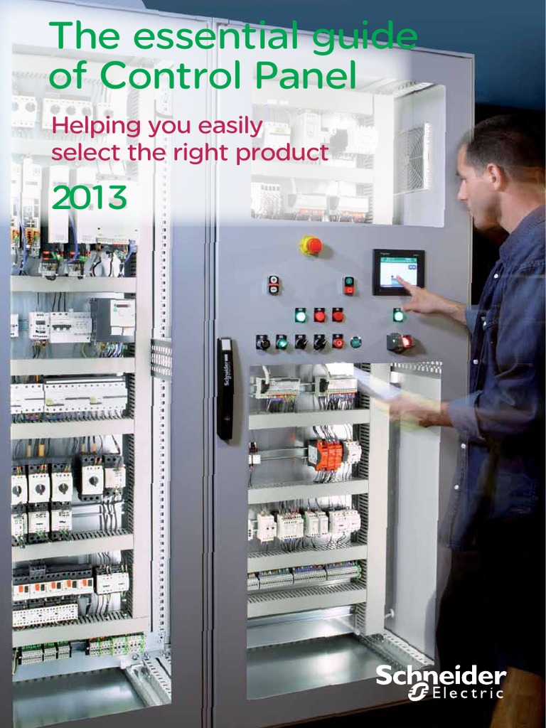 Essential Guide For Control Panel 2013 Engpdf Ac Power Plugs And Work Wiring Diagram Micrologix 1400 Rj45 Sockets Supply
