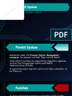 The Permit System