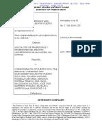 Demanda APRUM vs. Junta de Control Fiscal y otros