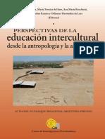 PERSPECTIVAS de LA Educación Intercultural Desde La Antropología y La Arqueología