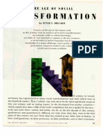 Drucker Transformación Social