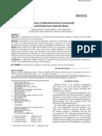 Journal 1 - Plasenta Previa