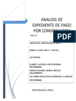 Analisis de Expediente de Pago Por Consignacion Civil 4