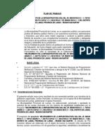 Plan de Trabajo Jr. Inca Roca