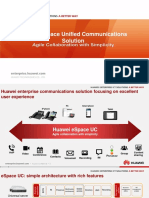 Huawei ESpace Unified Communications Solution Presentation for Exhibition