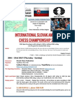 International Slovak Amateur Chess Championship 2017 (20.-23.7.2017)