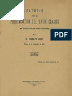Fonética Latina
