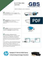 Impresoras HP DeskJet GT - Lista de Comprobacion