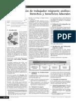 Contratación de Trabajador Migrante Andino 05_2014
