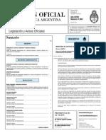 Boletín Oficial de la República Argentina 2010-08-04 - Primera Sección