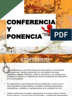 Trabajo de Conferencia y Ponencia
