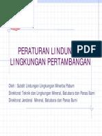 Peraturan Lingkungan Dan Limbah B3