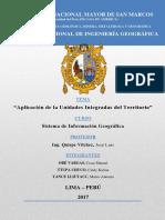 Informe de La Cuenca Altomayo