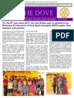 RC Holy Spirit THE DOVE Vol. X  No. 1  July 11, 2017