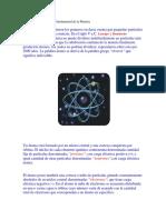 El Átomo Como Unidad Fundamental de La Materia