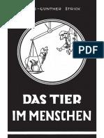 Strick, Hans Günther - Das Tier im Menschen; Verlag Hohe Warte, 1952,.pdf