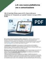 """Sito Web Emofilia Emoex.it La Piattaforma """"Dei Pazienti e Per i Pazienti"""""""