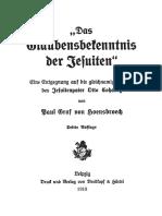 Hoensbroech, Paul Graf von - Das Glaubensbekenntnis der Jesuiten; 1913,.pdf
