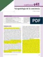 e41 Psicopatología de La Conciencia