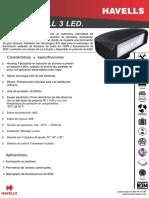 Ficha Tecnica Onwall 3 LED N