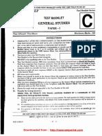 Upsc Prelims 2017 Paper Gs Set c Www.iasexamportal.com