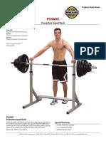 Pss60x Squat Rack