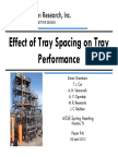 94c Effect of Tray Spacing on Tray Performance AIChE Paper 94c