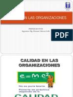 Calidad en Las Organizaciones