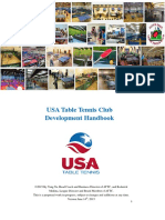 Table tennis Club Handbook