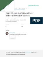 Deus Na Aldeia Missionarios Indios e Mediacao Cult