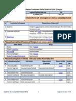 a7 professional development plan