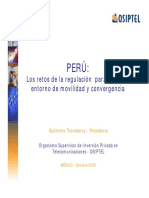 Retos Regulación Convergencia