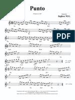 Punto (Valzer) Spartito Musicale-maestro Inglese
