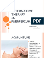 alternative therapy in puerperium.pptx