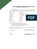 Format Surat Baru