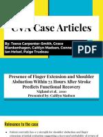 cva case articles