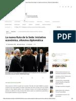 La Nueva Ruta de La Seda_ Iniciativa Económica, Ofensiva Diplomática