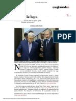 14 Mayo 2017 La Jornada_ Bajo La Lupa