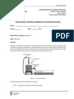 364634-Modelagem e Resposta Dinamica - Sistema de Nível