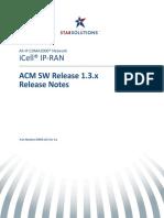 D00951GS Rev A1 ACM SW 1.3.x Release Notes