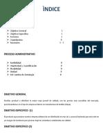 Proyecto final de Temas de administracion 6to semestre 1er parcial (Creacion de una empresa y su documentacion)
