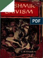 Kashmir Shaivism. L.N. Sharma.pdf