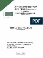 Formato de Trabajo de Investigacion de Unichaco