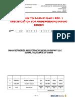 S 000 5316 201(Underground Pipe Design Rev.1)