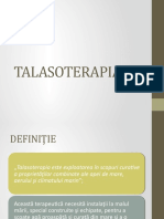 Curs VI - Talasoterapia