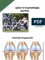 Curs XII-XIII-XIV - Primul Ajutor in Traumatologia Sportiva