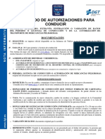 08 Duplicado Autorizaciones Para Conducir ESPANOL 14-01-2016
