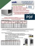 Calefactores Electricos Industriales